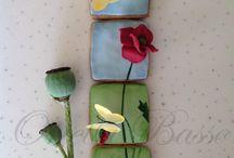 Печенье цветы (ботаническое)