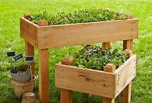 Wood planters idea