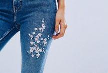 Jean embellishments