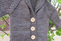 Knitting / Baby cardigan
