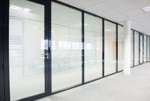 Cloison vitrée / Simple ou double vitrage selon vos attentes d'isolement acoustique, ASTONsas vous propose une large gamme de vitrage technique ou design