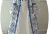 Robe de princesse Trianon bleu