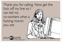 Call center humor