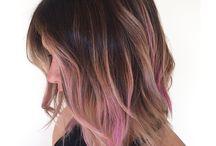 nice hair....