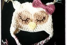 crochet owl hats / by Trisha Salerno