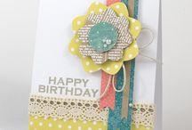 Card Inspiration - Birthdays