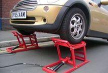 hydraulics car ramp