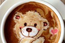 Arte del café latte