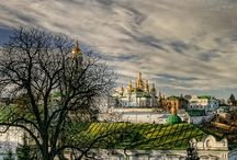 "KIEV UKRAINE / In the heart of Ukraine, on the banks of the Dnieper River, ""the mother of Slavic cities"" and the capital of Kievan Rus, Kiev, is spread out. With the population of ... / by UKRAINE TRAVEL.co"