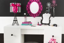 Pokj pink and black