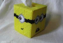 Stitchin n bitchin: plastic canvas / by Yvette Frankel