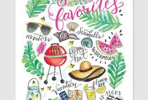 creative ☺ summer / nyári dekorációk