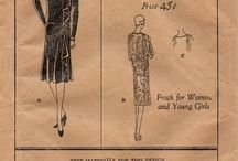 Sewing Patterns : 1920's