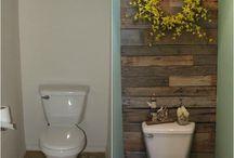 decoração em banheiros