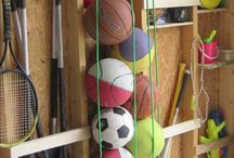 Organize Sports Equipments / by The Box Storage