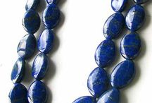 Stone Beads > Lapis Beads / Natural Lapis Beads in a variety of shapes, sizes and styles.