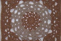 Hip to be a crochet square / Free crochet patterens / by Ann Pike