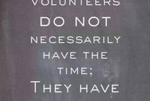 Inspiring & Honoring Volunteers / Recognizing volunteer work