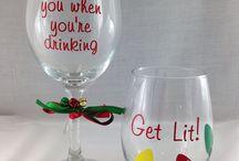 Custom Wine glass ideas