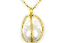 """Pearls by GURHAN / Inspired by the 1920s Romanticism Era, and his own belief that every woman should own pearls, Gurhan has """"captured"""" the beauty of the pearl in rich 24K gold cages with his new collection """"Capture""""."""
