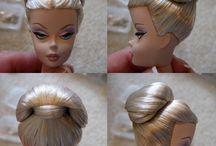 Barbie frisurer
