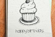 Birthday cards - presents