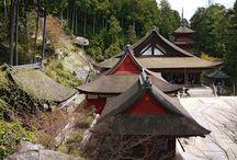 Temple Chomei-ji / Chomei-ji, the temple of long life, is a buddhist temple in Omihachi-man, Shiga prefecture. It is the 31st temple of the Saigoku pilgrimage path.
