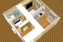 progettazione / planimetrie, rendering