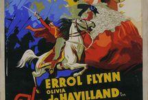 Classic Movie Posters / Vintage Movie Posters, 1936, Errol Flynn, Olivia deHavilland, Warner Oland, Boris Karloff