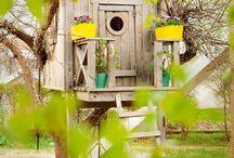 Věžička domeček zahrada