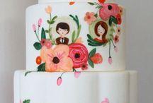 pretty cakes / by Valerie