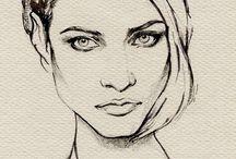 Рисование портретов