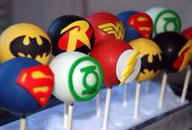 cake pops superhero