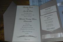 My DIY invitations / Handmade invitations