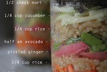 Lunch vegan