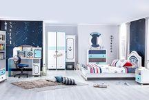 Kids Rooms / Çocuk Odaları / Çocuk odaları ve mobilya grupları