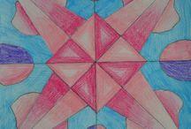 Simmetria radiale (radial symmetry) / Arte in classe seconda