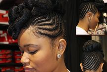 Black Hairstyles / by Idella Brown