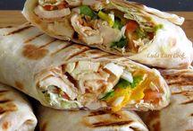 Уличная еда и фастфуд / Вкусные рецепты уличной еды из разных стран:) а также фастфуд