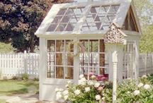 SHEDS AND GARDENS / Tips for gardening/shelters for gardens https://homeiswherethejourneybegins/blog