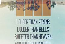 Lyrics / by Tamara Pensa