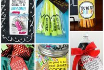 Teacher gifts / by Allison Vandenhouten