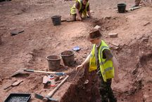 Student excavations 2014 / Archaeology training of University of Bristol students at Berkeley Castle