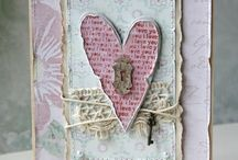 Cards: Shabby chic
