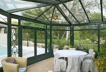 Veranda sejour / Ce tableau regroupe différents modèles de verandas Vérancial utilisés comme séjour ou salle à manger par leurs propriétaires.