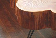 Nyersfa bútor