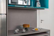 Nichos para cozinha / São inspirações para você organizar e decorar sua cozinha com estilo!