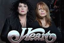 Heart Band / Heart is an American rock band that first found success in Canada and later in the United States and worldwide. Over the group's four-decade history, the band has had three primary lineups, with the constant center of the group since 1974 being sisters Ann Wilson and Nancy Wilson. Heart rose to fame in the mid-1970s . / by Darlene Keener