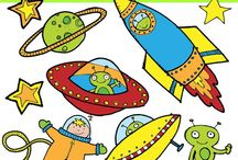 Art & Doodles - Space