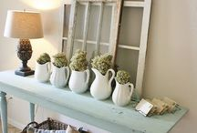 Farmhouse style / by Christina@TheFrugalHomemaker.com
